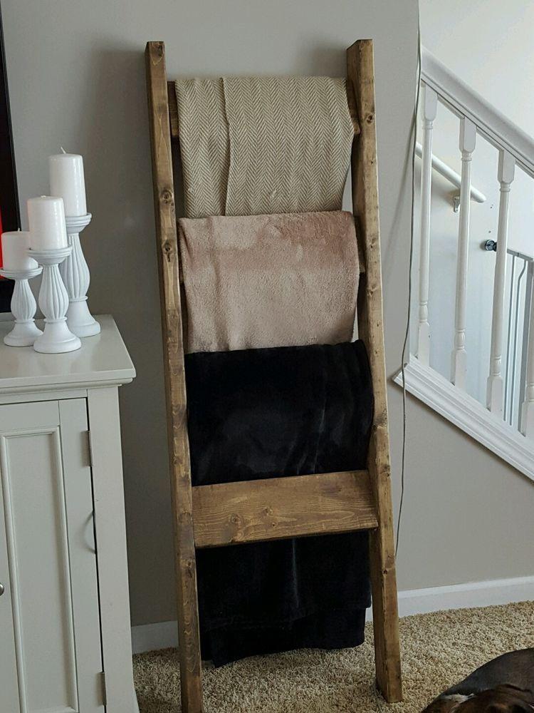 Blanket ladder towel ladder quilt ladder nursery towel