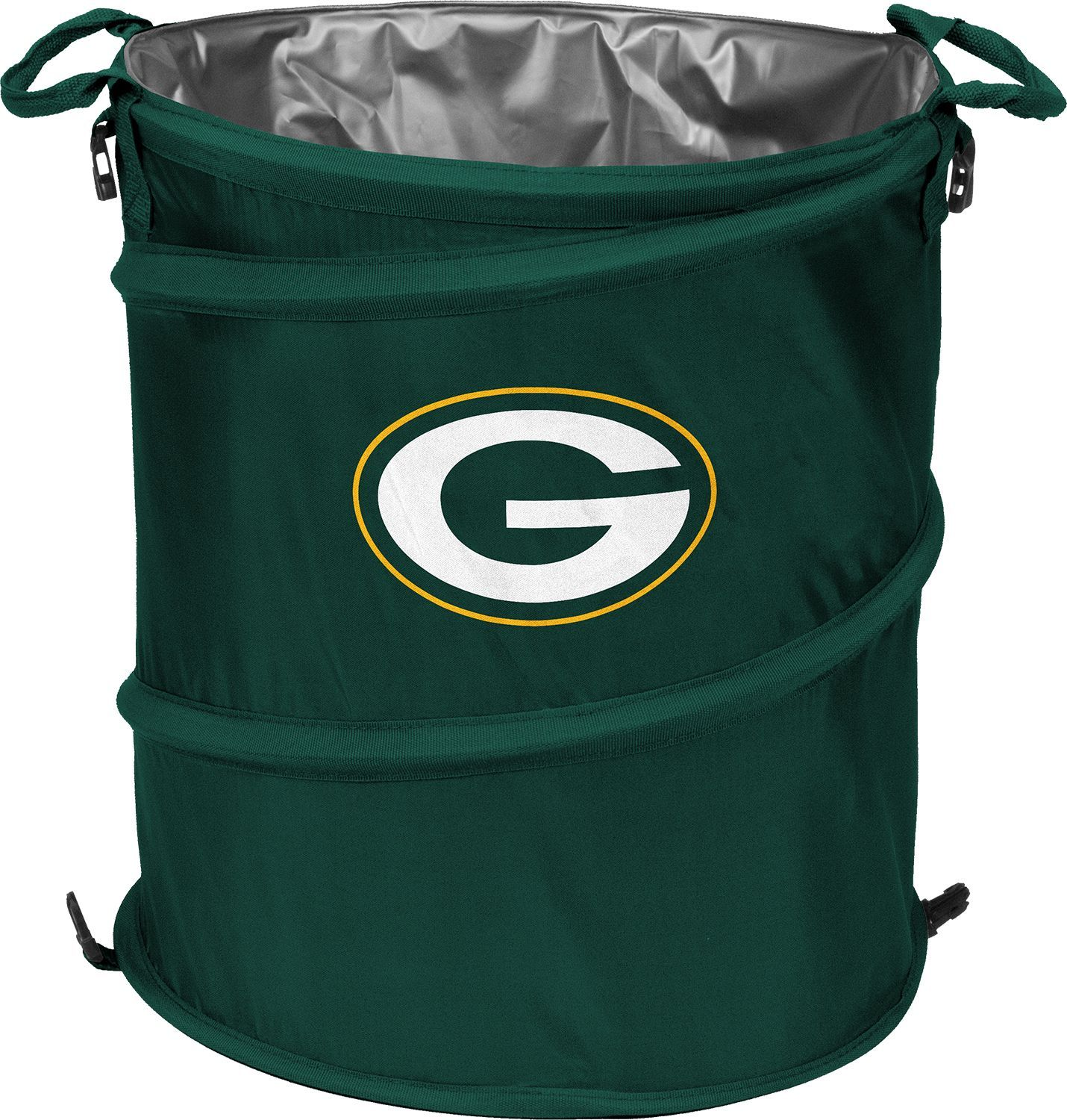 Green Bay Packers Trash Can Cooler Soft Sided Coolers Nfl Nfl San Francisco