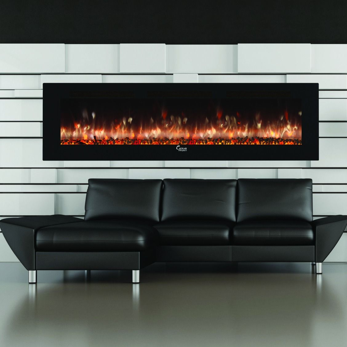 Looking for a fireplace that offers a modern design with