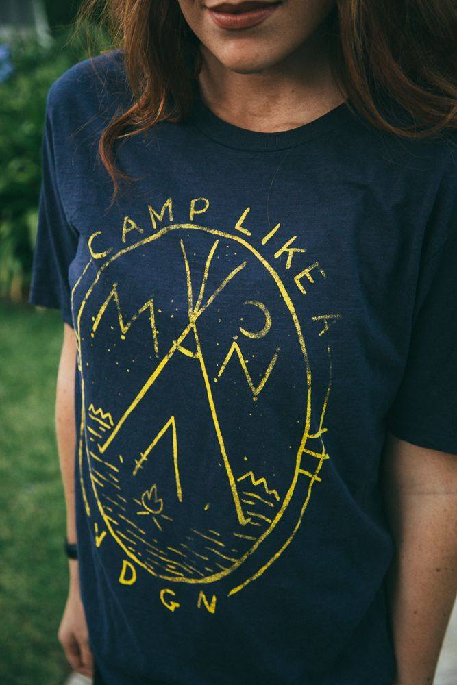 Wednesday | Giveaway Good camp like a man t shirt