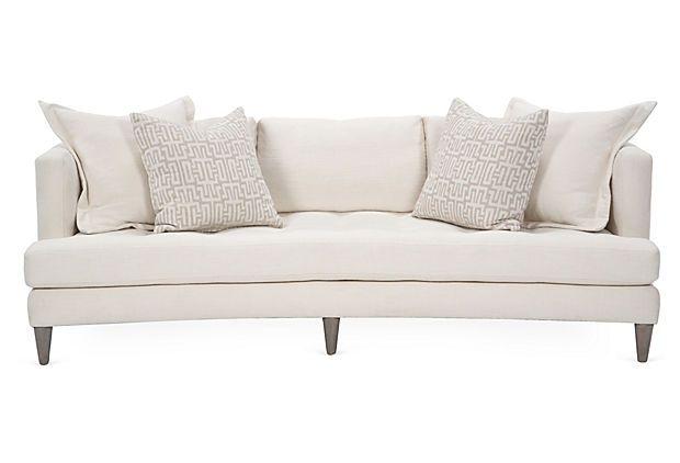 Wondrous Ballard 94 Sofa On Onekingslane Com Frame Alder Ocoug Best Dining Table And Chair Ideas Images Ocougorg