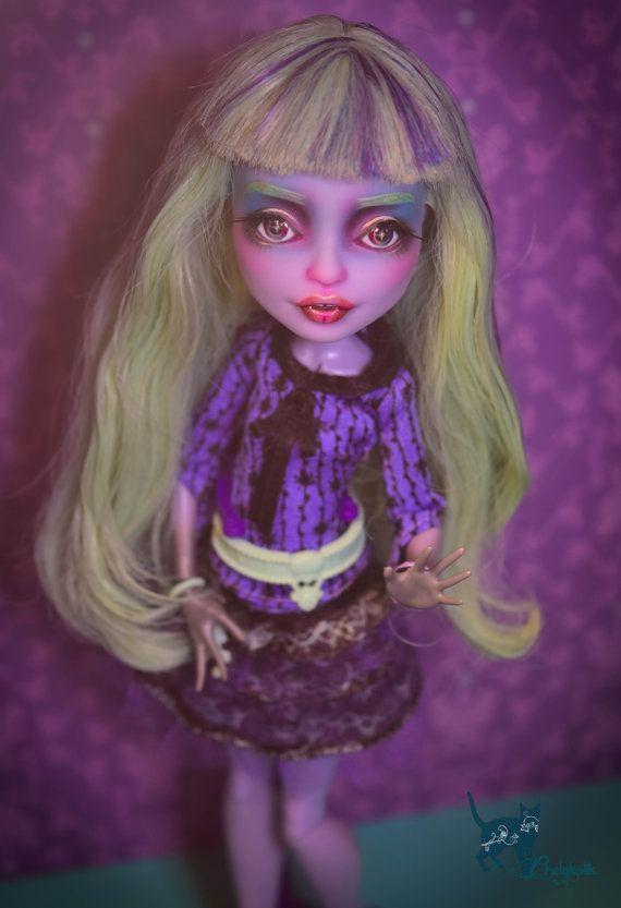 SALE!!! OOAK Monster Repaint Doll Custom Twyla