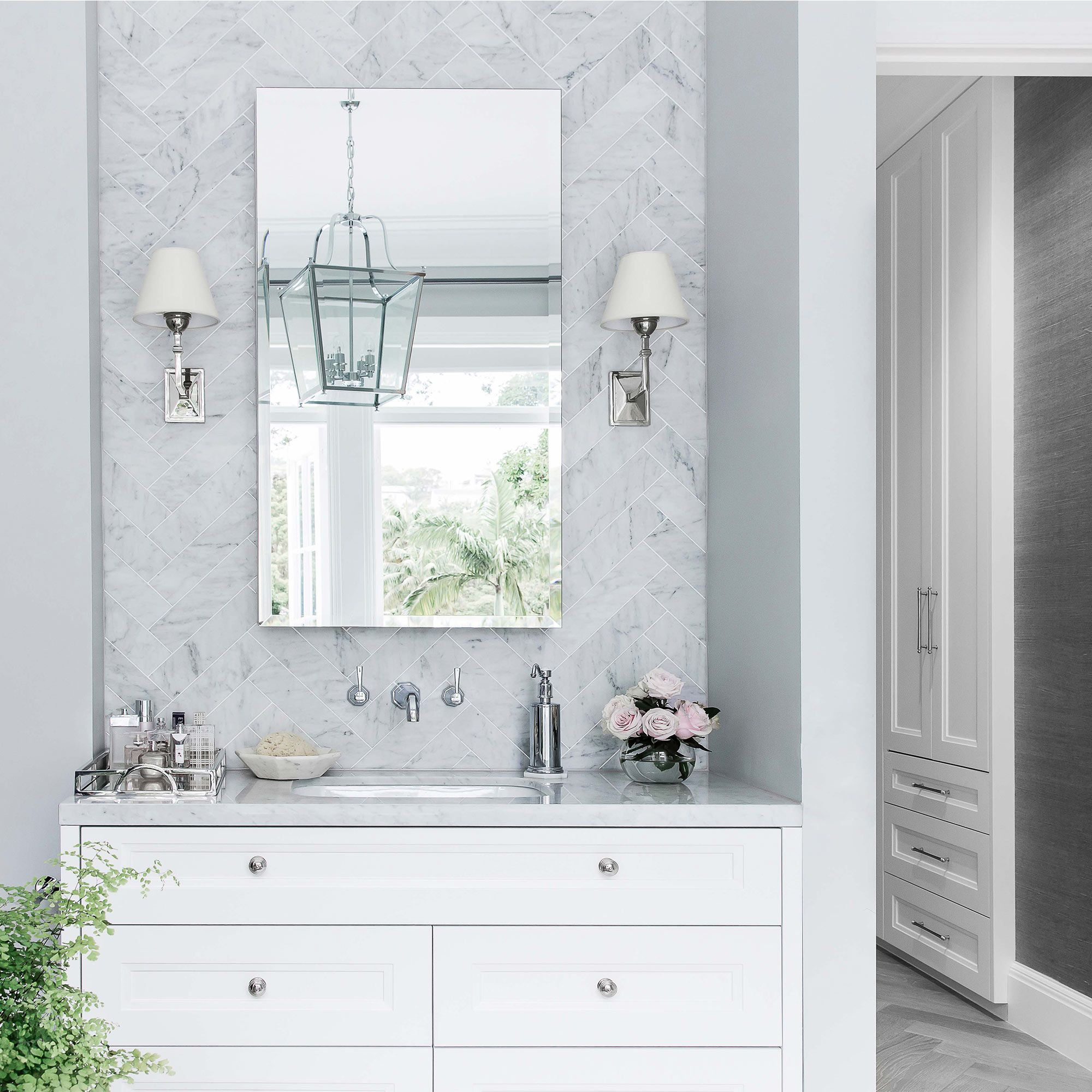 Custom Design Bathrooms Prepossessing Refined Sophistication In This Custom Designed Bathroomcoco Inspiration