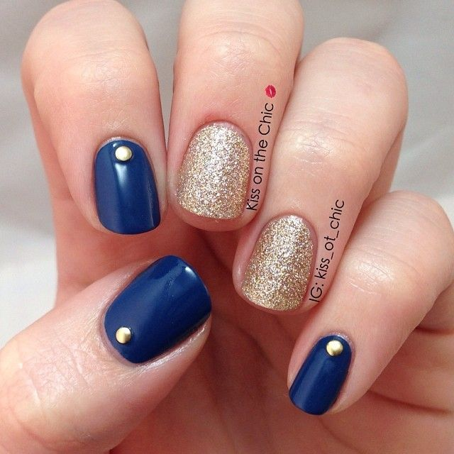 Best 25+ Blue gold nails ideas on Pinterest | Royal blue nails, Flying blue  gold and Cute nail designs - Best 25+ Blue Gold Nails Ideas On Pinterest Royal Blue Nails
