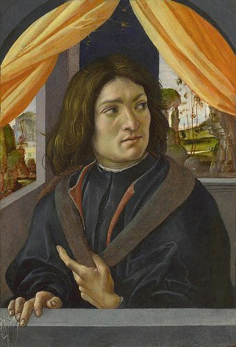 Raffaellino del Garbo - Portrait of a man (1500)