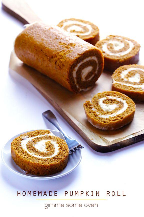 + ideas about Easy Pumpkin Roll Recipe on Pinterest | Pumpkin Rolls ...