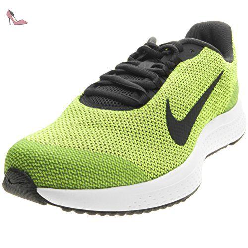 new concept b8e04 ffb95 Nike Nike Runallday, Chaussures spécial basket-ball pour homme vert vert  noir -