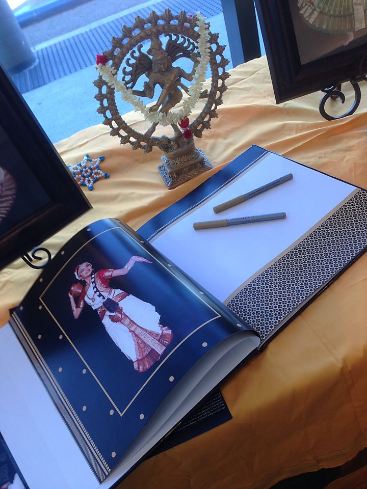 Arangetram guest signing book template jaipur for Arangetram stage decoration ideas