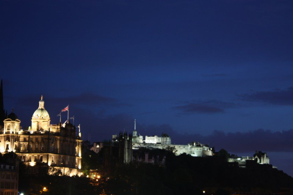 Edinburgh @ night