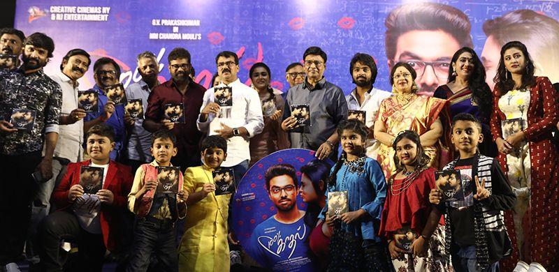 GV Prakash Kumar, Shalini Pandey Speech At 100% Kaadhal Movie Audio Launch