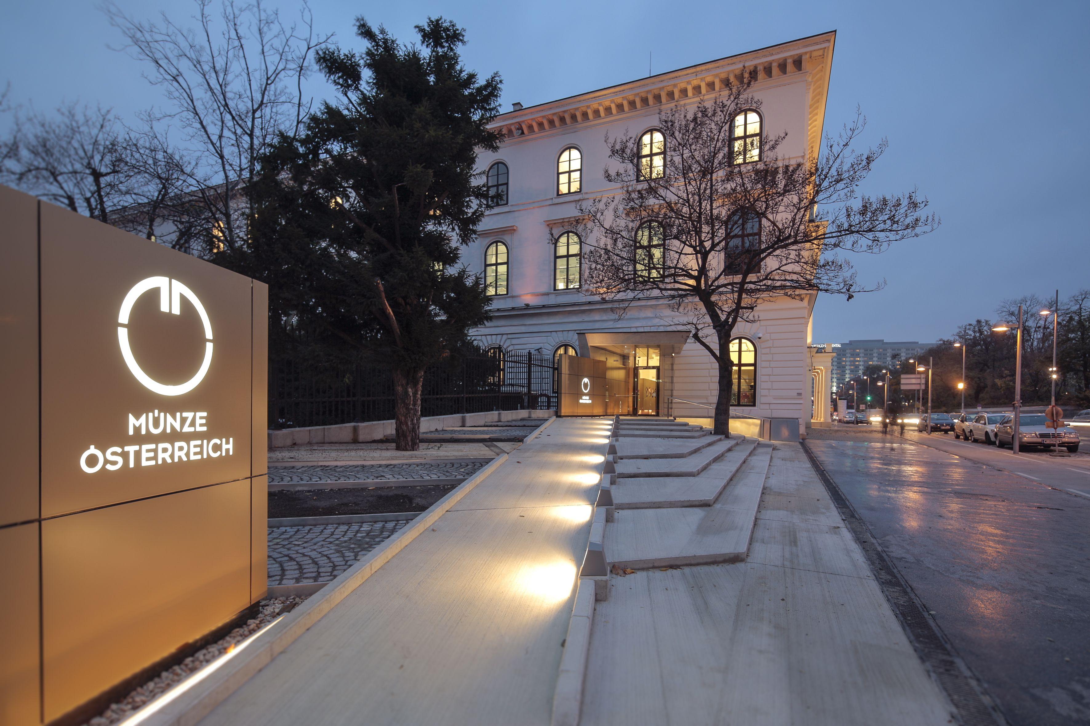 Der Münze österreich Shop In Wien Zum Kaufen Sammeln Anlegen Und