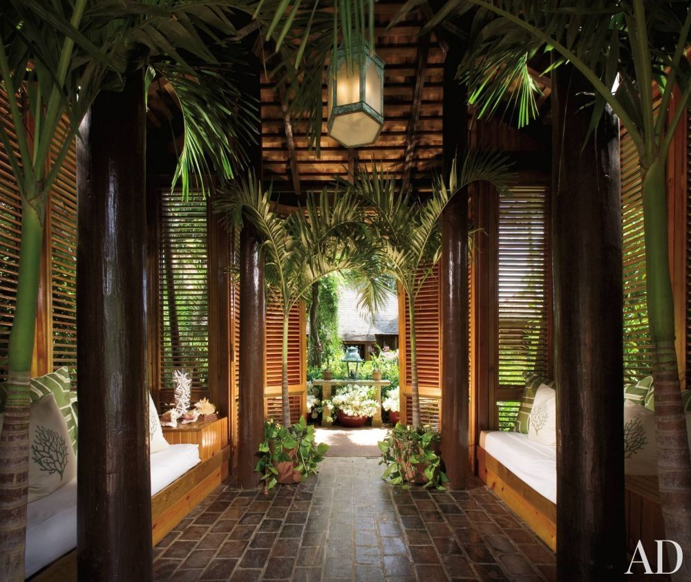 Hawaiian Home Design Ideas: The Entranceway To Casa Grande Framina In The Dominican