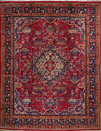 "Buy Kashmar Persian Rug 9' 10"" x 12' 8"", Authentic Kashmar Handmade Rug"