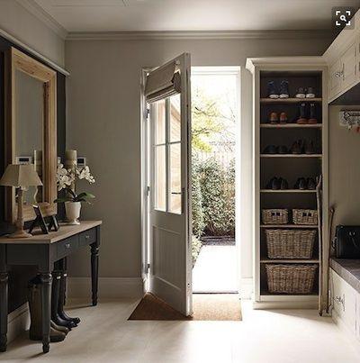 maison campagne chic bonne id e le tapis int gr dans le carrelage campagne chic en 2019. Black Bedroom Furniture Sets. Home Design Ideas