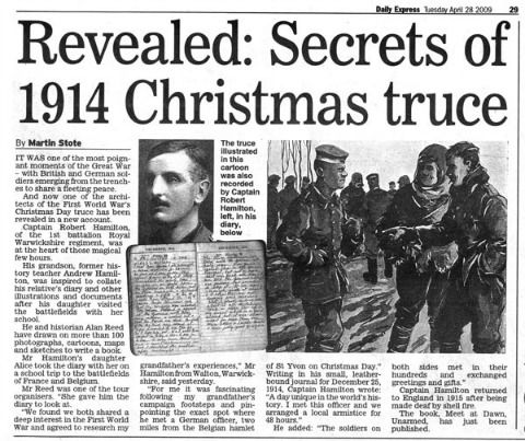singer/songwriter John McCutcheon: Christmas in the Trenches ...