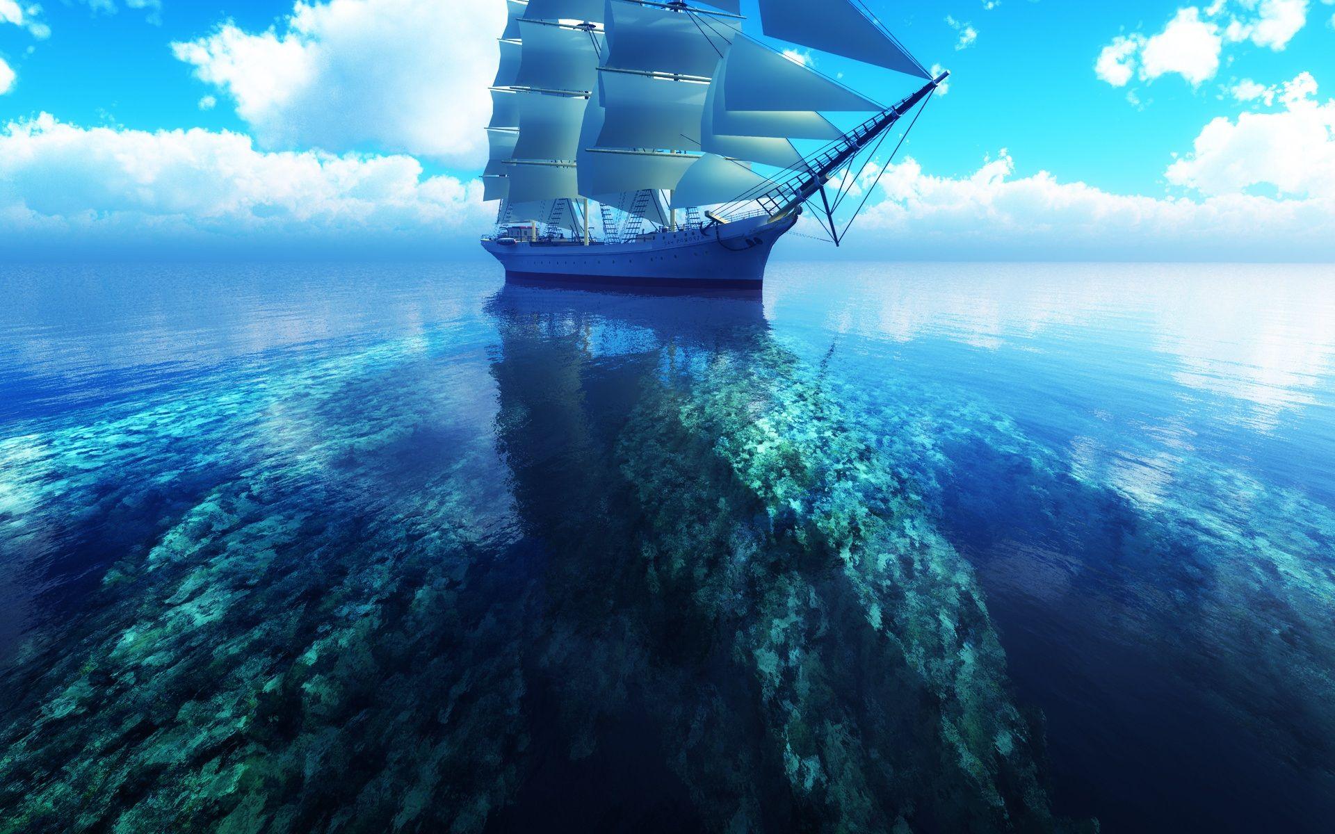 Sfondi Mare Azzurro Colours Colori Color Sailing Ships
