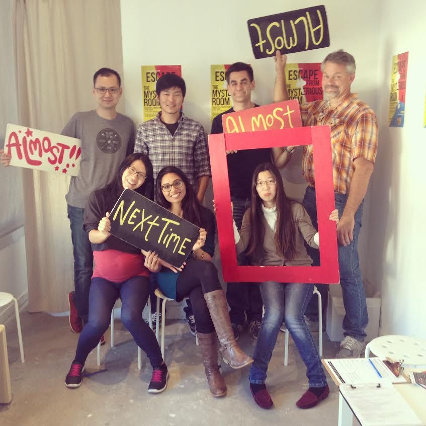 We didn\'t escape the room...at Real Escape Room, SF | Bonding ...