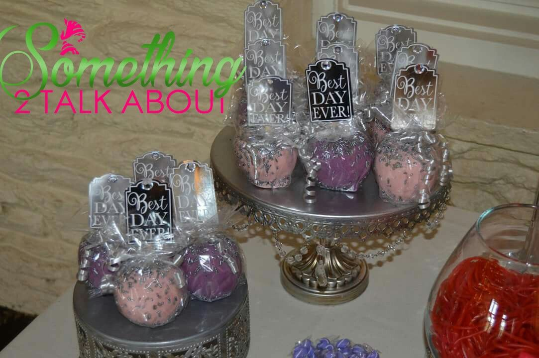 Wedding Chocolate Covered Apples