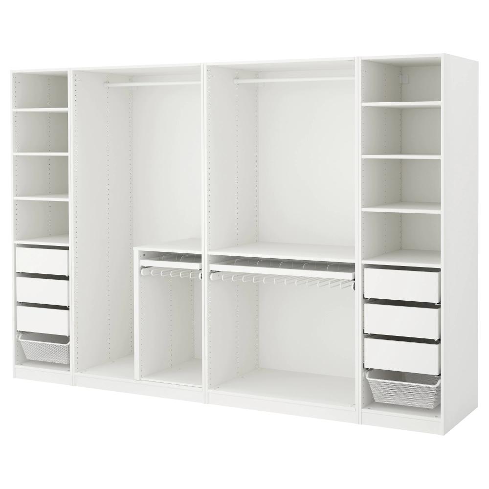 Pax Wardrobe White 118 1 8x22 7 8x79 1 4 Ikea Pax Wardrobe