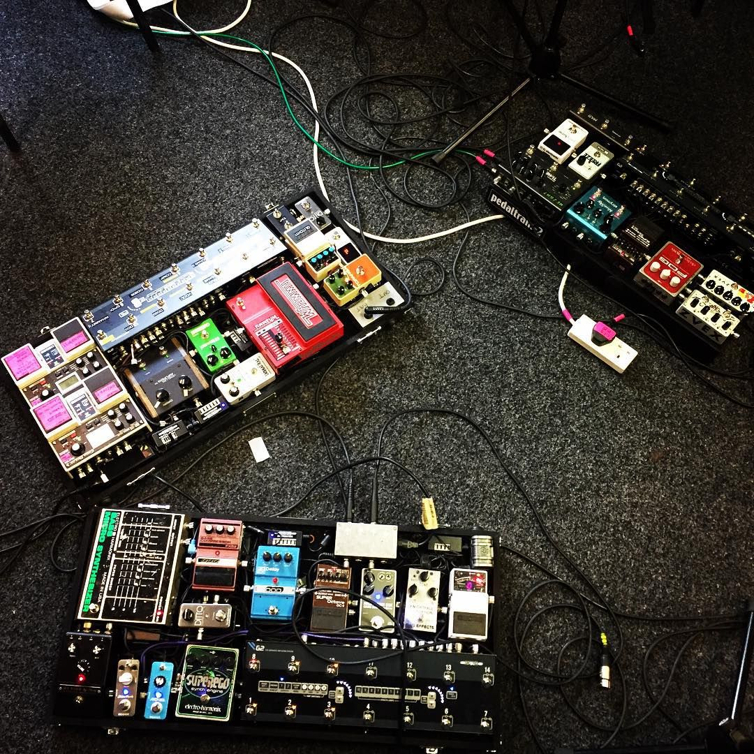 sooo this weekends been pretty fun allearsavow gear pedalboard effectspedals thegigrig. Black Bedroom Furniture Sets. Home Design Ideas