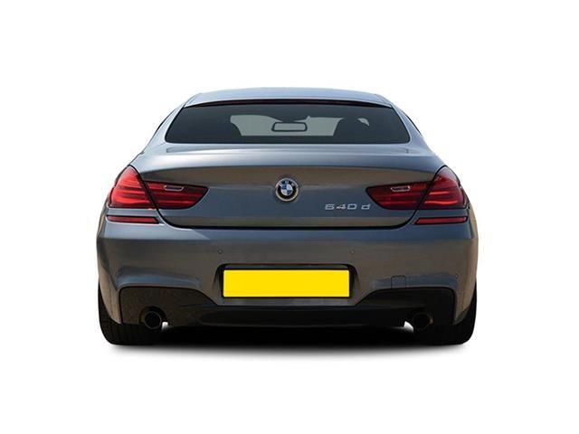 BMW 6 Series Gran Coupe rear view
