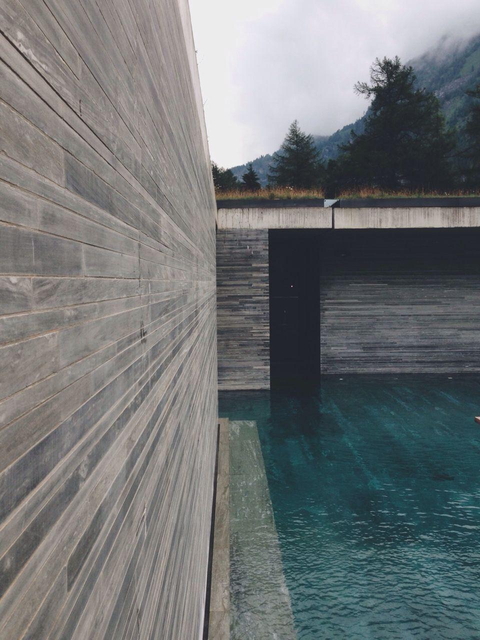 Therme Vals SchweizPeter Zumthor Arquitectura