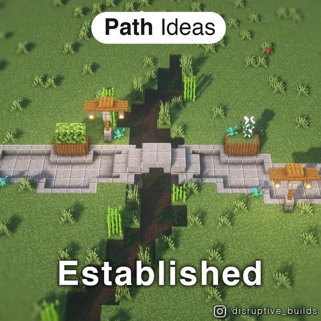 Natural vs Established Pathway Styles