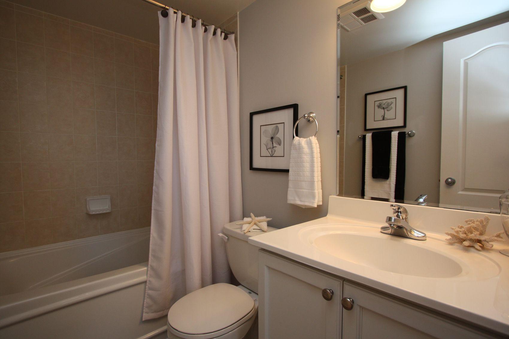 Ensuite Bathroom After Staging