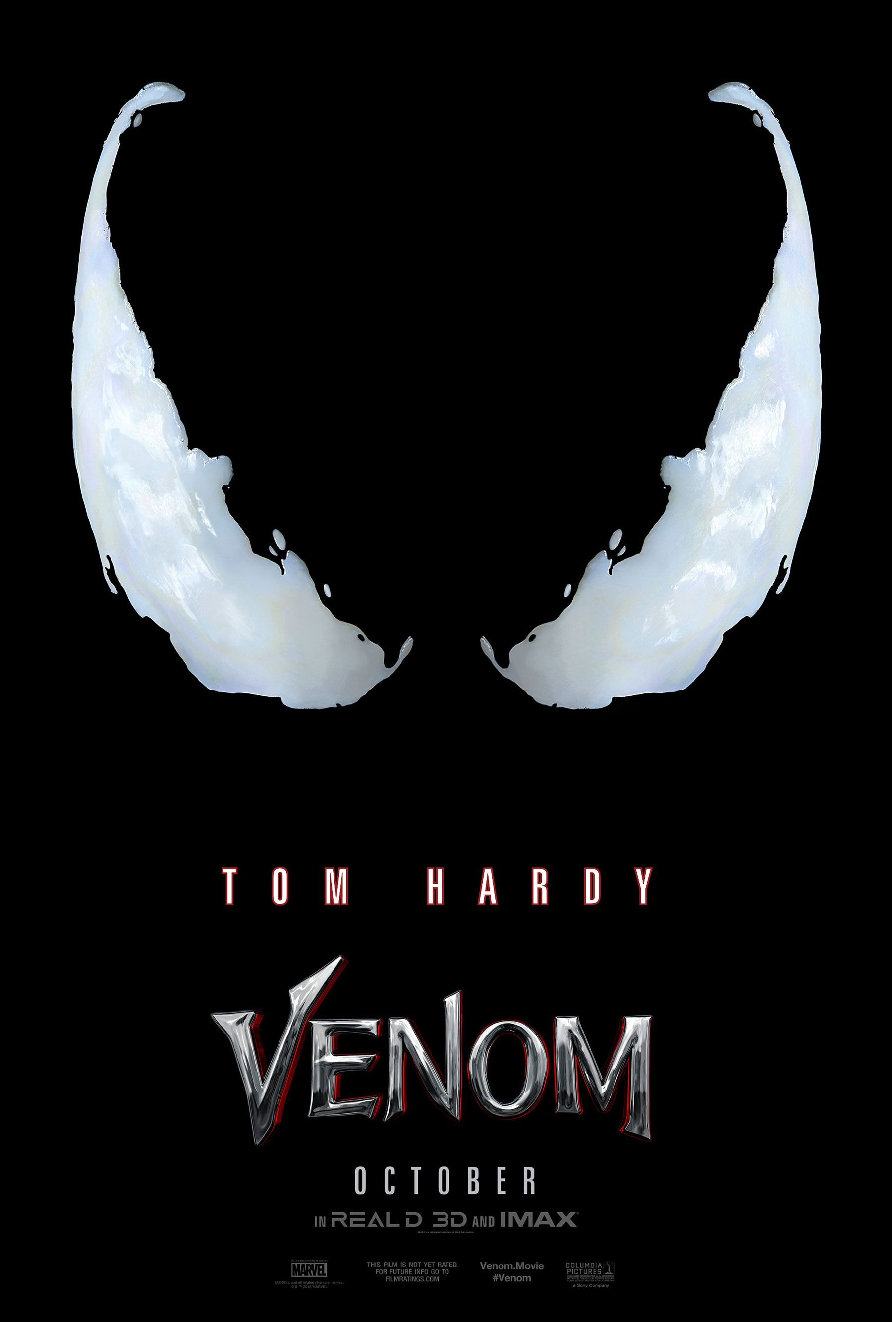 Venom Poster For Tom Hardy Film Teases Something Wicked In The Works