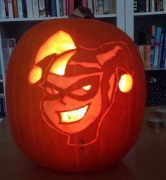 harley quinn pumpkin stencil  Pin on Halloween