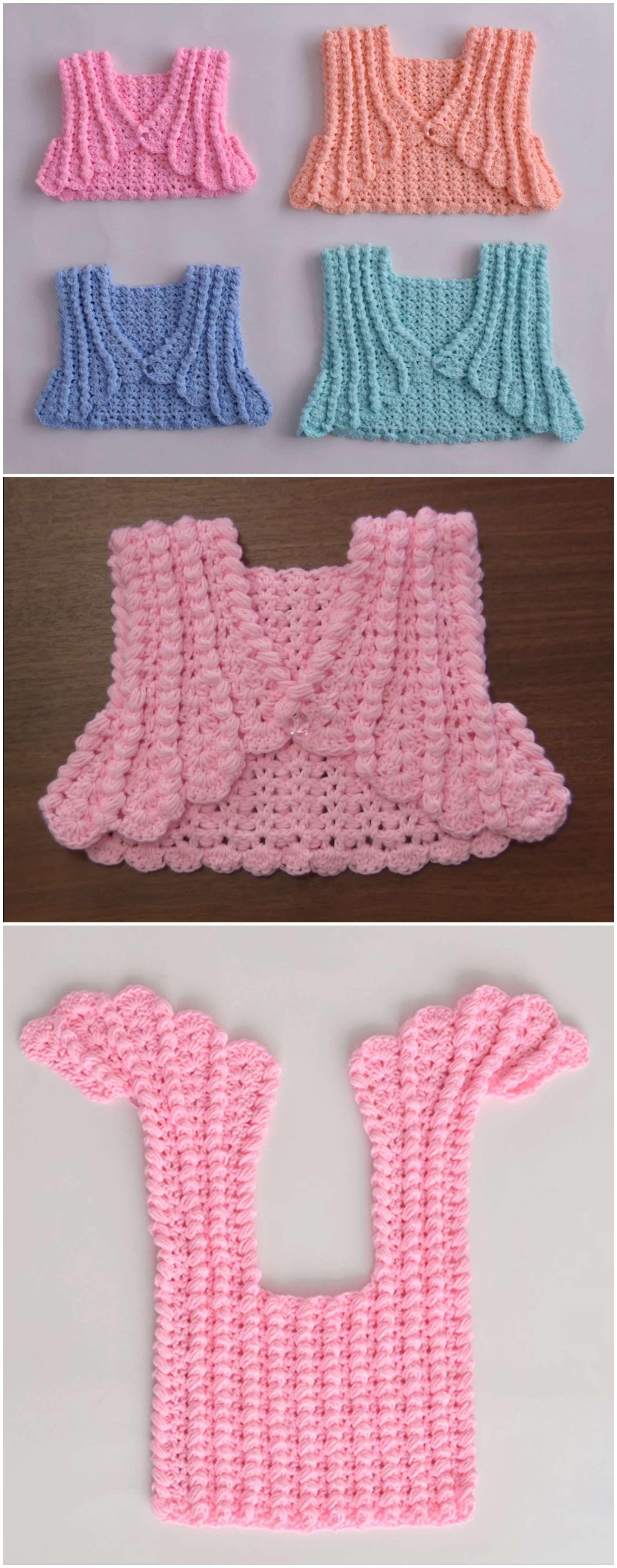 Crochet Pretty Bolero for Babies   Pinterest   Boleros, Crochet and ...