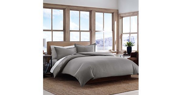 Eddie Bauer Pinstripe Duvet Cover Collection Andrew S Education
