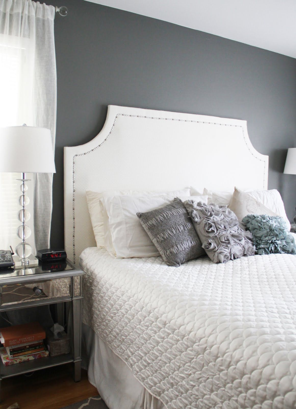 Master bedroom grey paint ideas  A year ago I won a a giveaway for a longdistance remodel from the