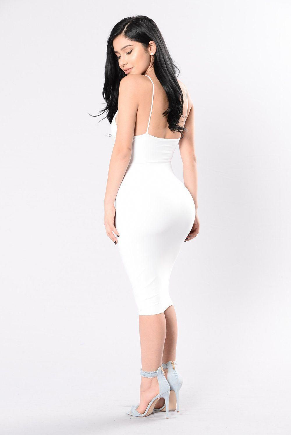 7bf65e38bca3 Simple Kind Of Life Dress - White #tightdressesclassy | Tight ...