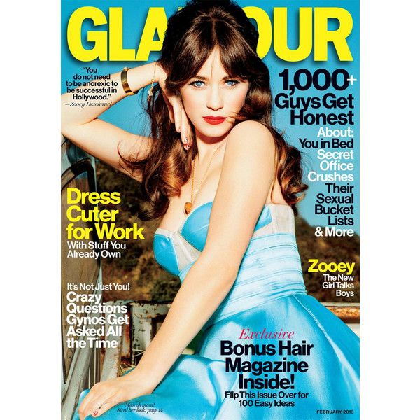 Glamour magazine: fashion, beauty, hair, makeup, diet, health, sex... ❤ liked on Polyvore featuring magazine, books, text, words, backgrounds and magazine cover