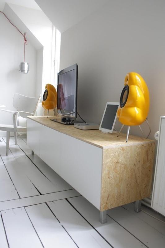 Meuble Osb Medium Blanc Osb Ikea Hackers Ikea Cabinets Et
