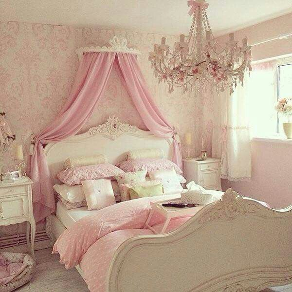 Can Hook Up Command Hooks A Curtain Rod Wrapped In A Fluffy Pink