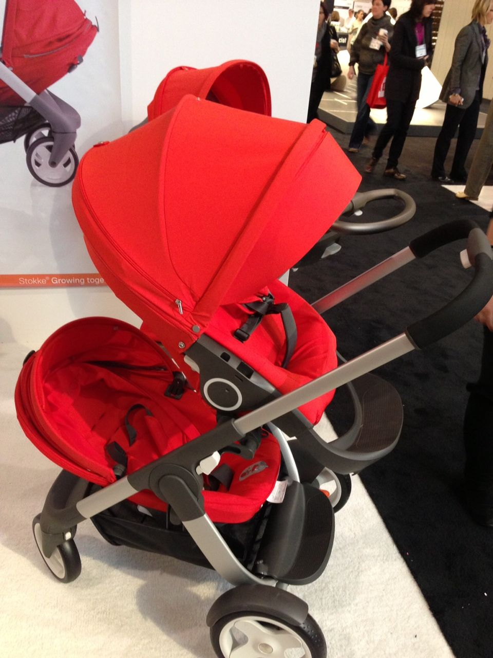 New Stokke Crusi makes its debut in Canada! Stroller