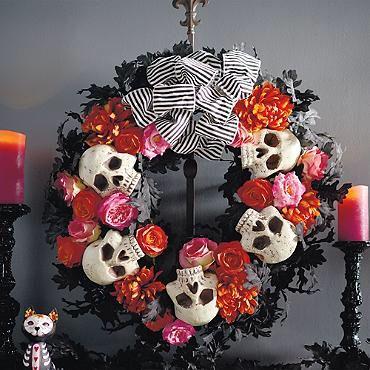 http://www.grandinroad.com/dia-de-los-muertos-wreath/halloween-haven/outdoor-halloween-decorations/905523