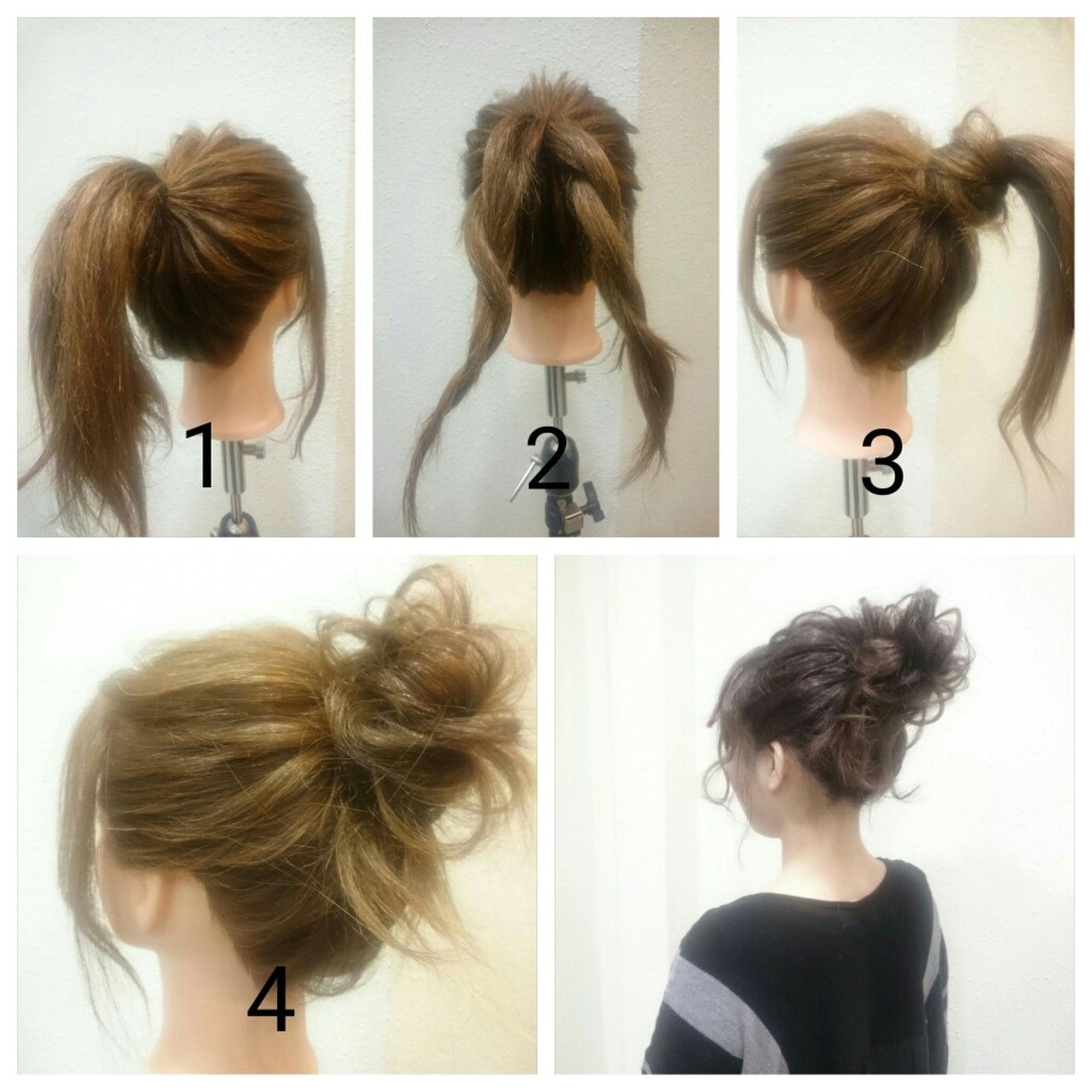 Messy bun beauty pinterest messy buns hair style and makeup