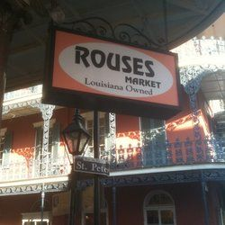 Rouses Market in the French Quarter New Orleans We shop here