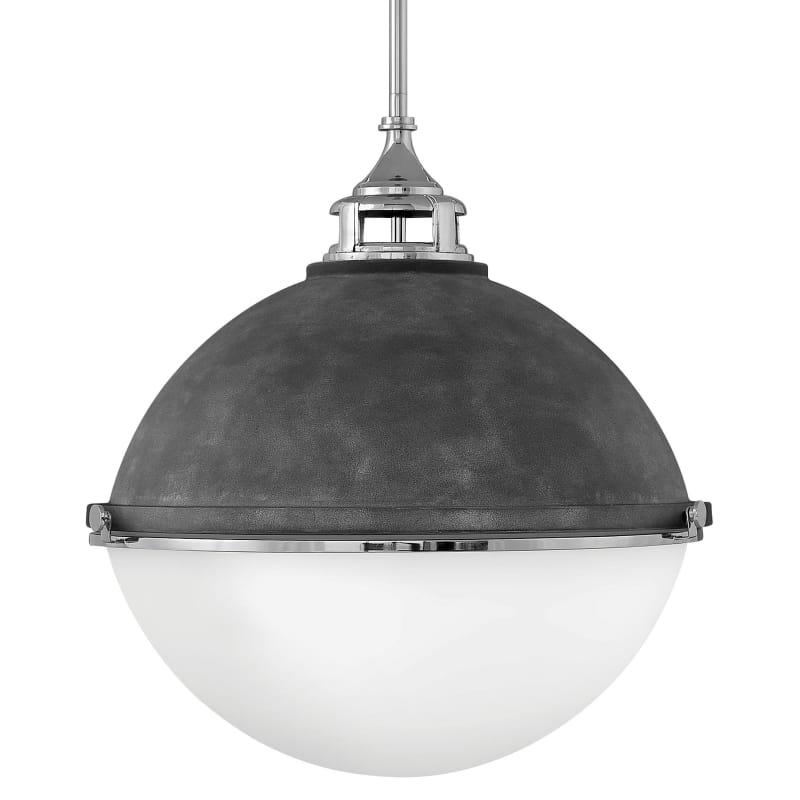Hinkley Lighting 4836dz Pn Fletcher 3 Light 22 Wide Pendant