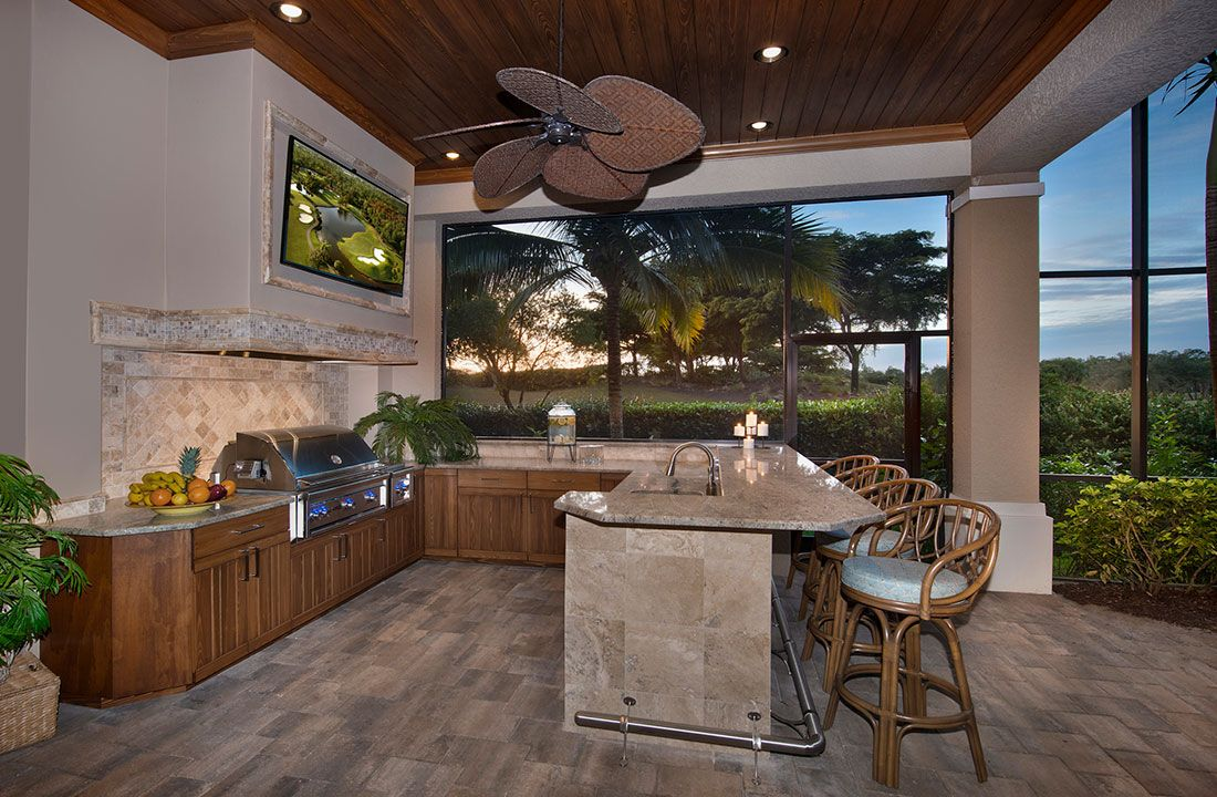 Outdoor Kitchen Bonita Springs Fl With Images Outdoor Kitchen Design Kitchen Remodel Outdoor Kitchen