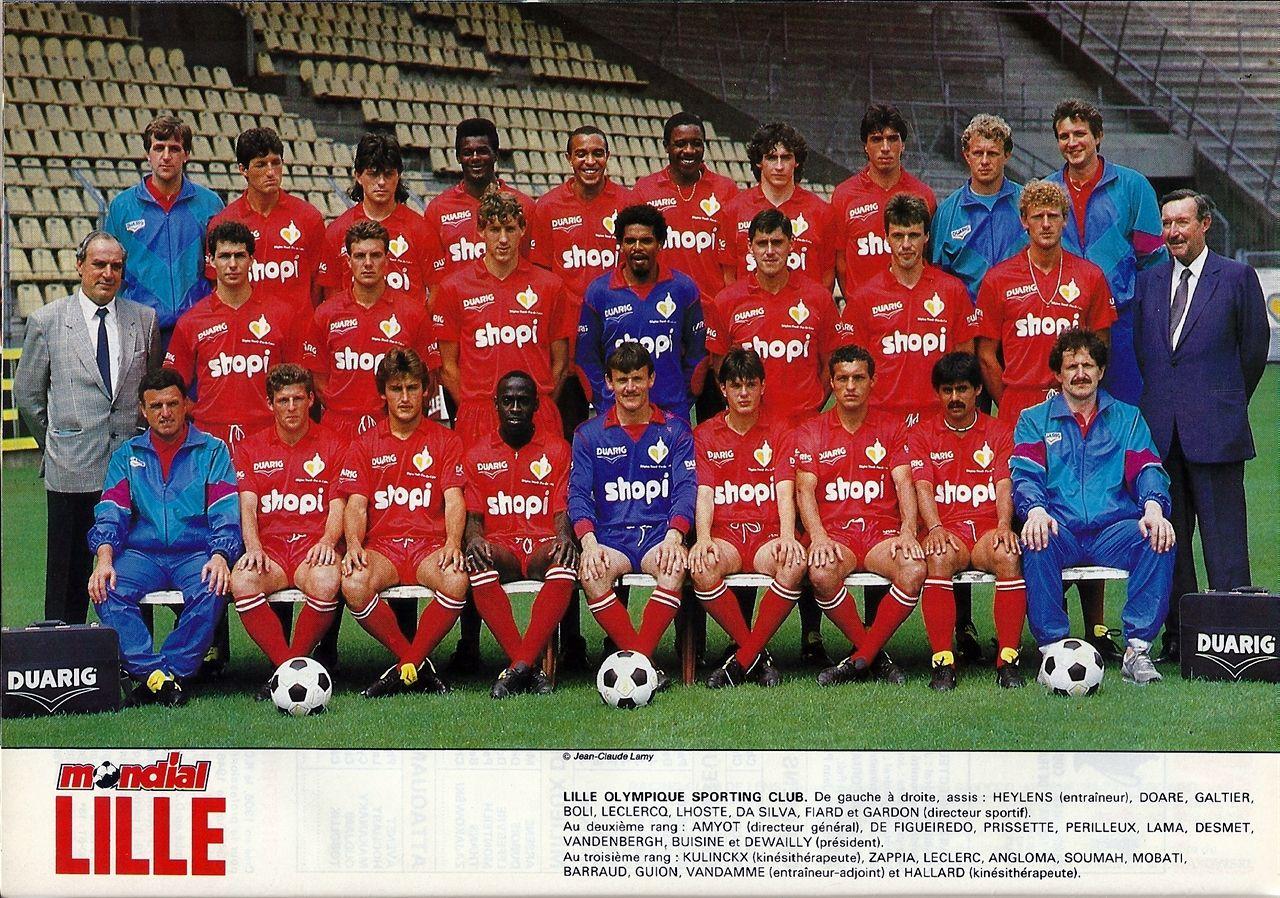 LILLE OSC 1989 Soccer team, Lille