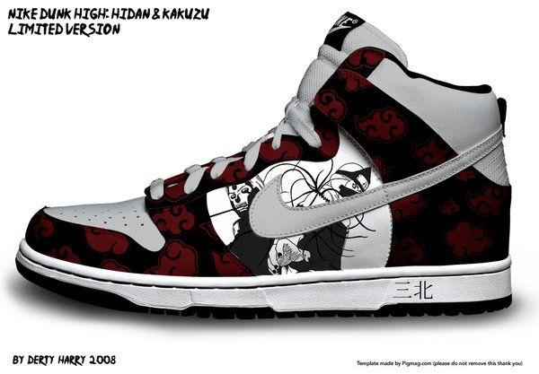 Naruto kakuzu Door Nike ~ Dunk High dertyharry Op Deviantart Hidan qUqtZz7