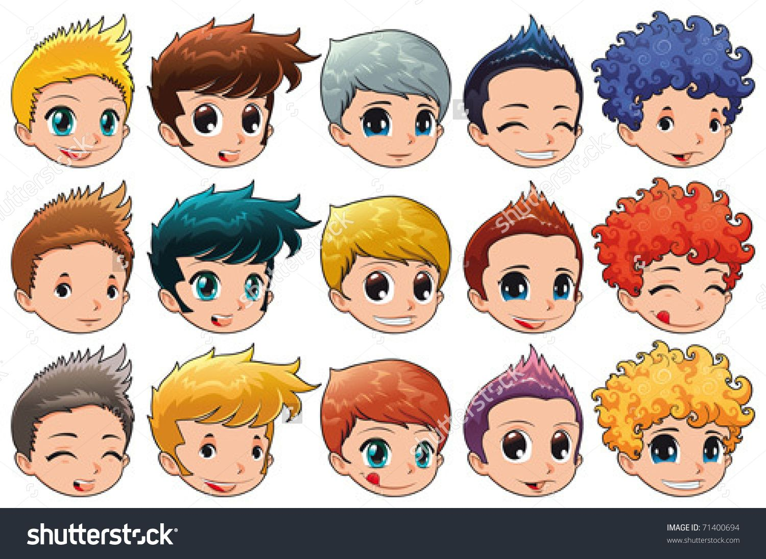cartoon boy hair clipartfest curly hair cartoon boy