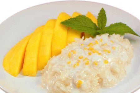 Resep Mango Sticky Rice Ketan Mangga Thailand Mango Sticky Rice Rice Sticky Rice