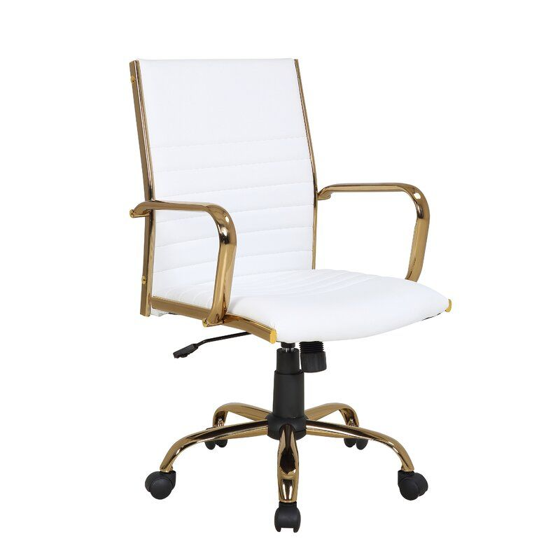Cadoz Conference Chair In 2020 Adjustable Office Chair Gold Office Chair Contemporary Office Chairs