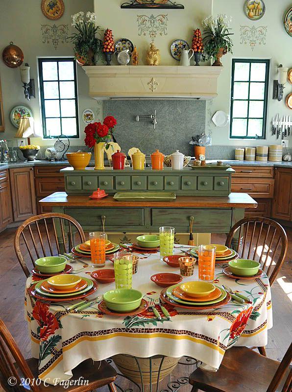 Bright And Fun Table Set Up Citrussplash Citrus