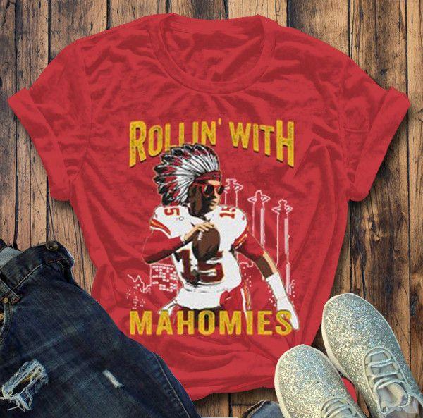 57b9a4de000 Patrick Mahomes Shirt Rollin With Mahomies Unisex Heavy Cotton T shirt  S-3XL #fashion #clothing #shoes #accessories #unisexclothingshoesaccs ...